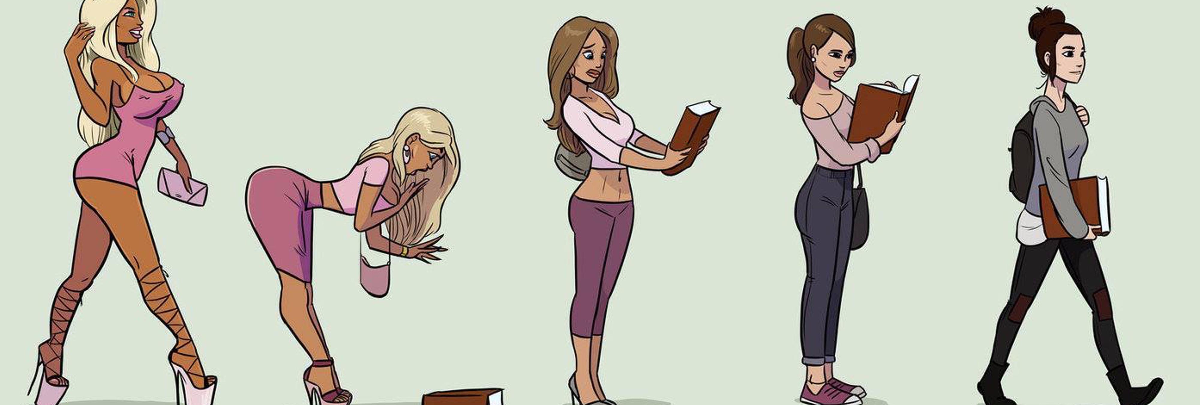 """La explicación fetichista del """"dibujo sexista"""" que ha cabreado a todo el mundo"""