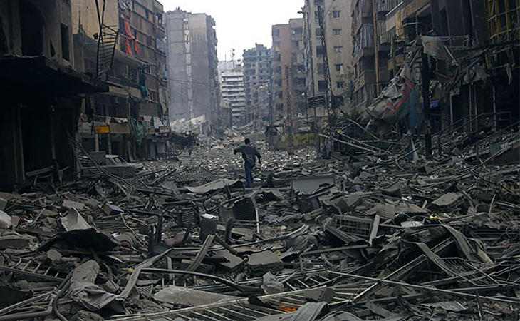 Beirut durante la Guerra Civil