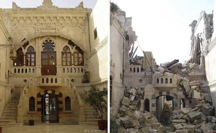 La destrucción del patrimonio se intensificó durante la Guerra de Irak
