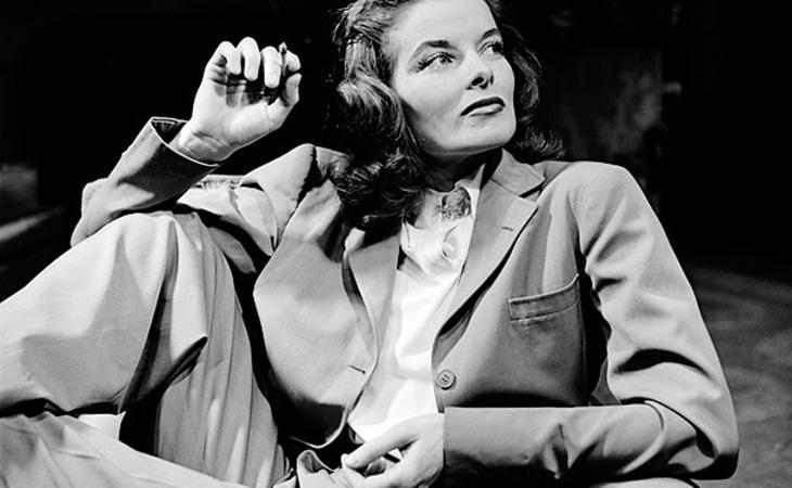 La famosa actriz Katherine Hepburn