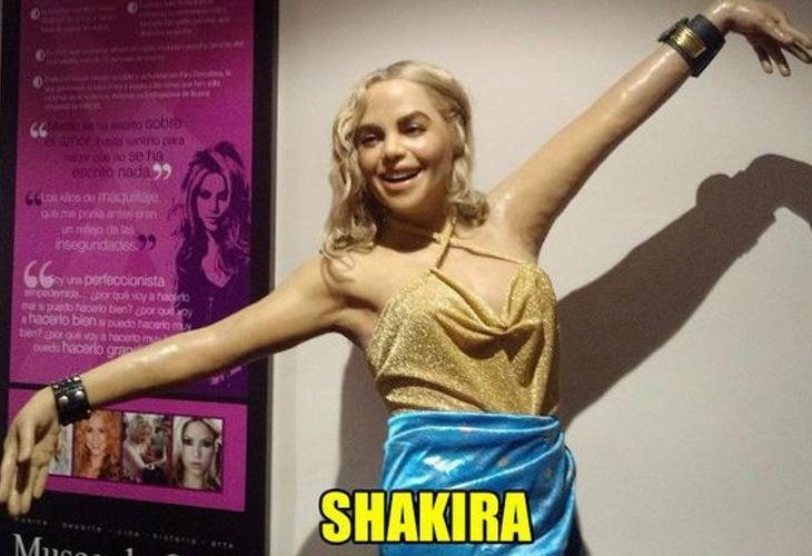 Shakira Sabater cantando la 'Salchiwaka'