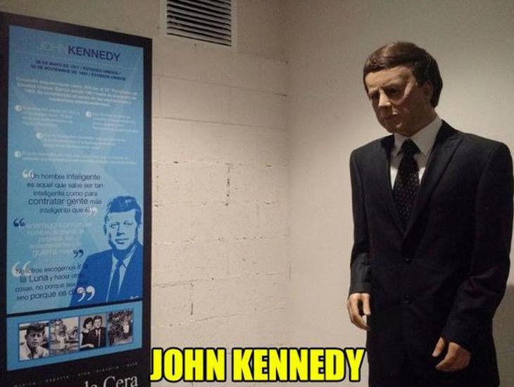Si John Kennedy levantara la cabeza...