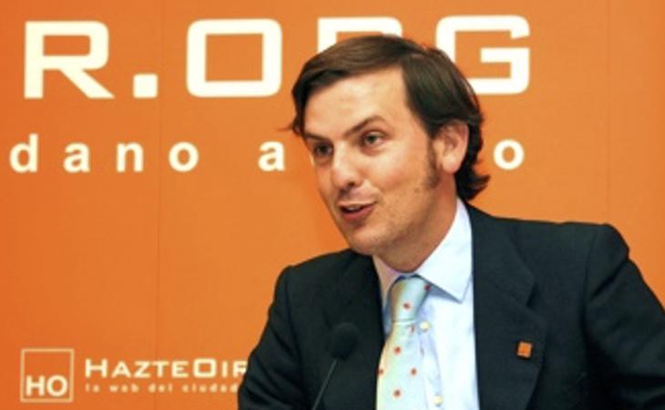 Ignacio Arsuaga, presidente de la plataforma, asegura que no han intentado
