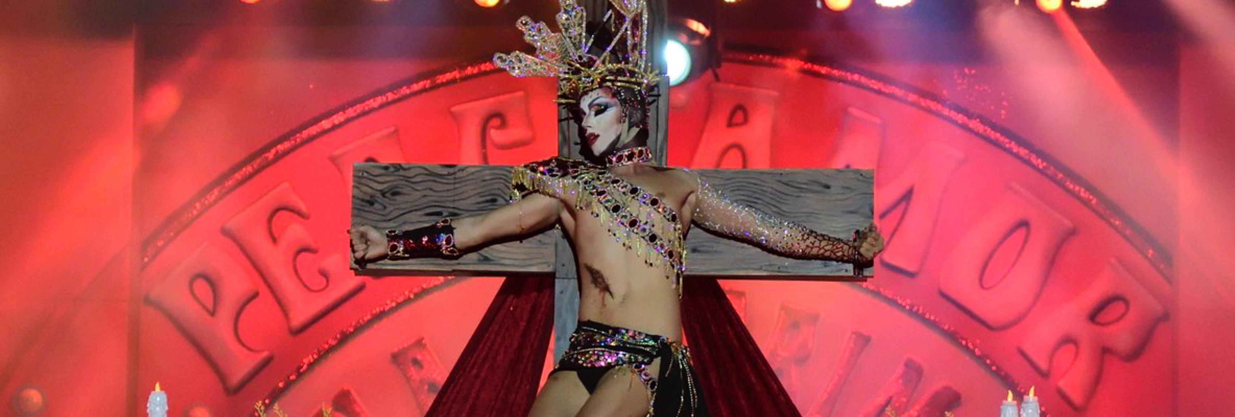 RTVE elimina de su web la gala de carnaval que coronó a la Virgen Drag
