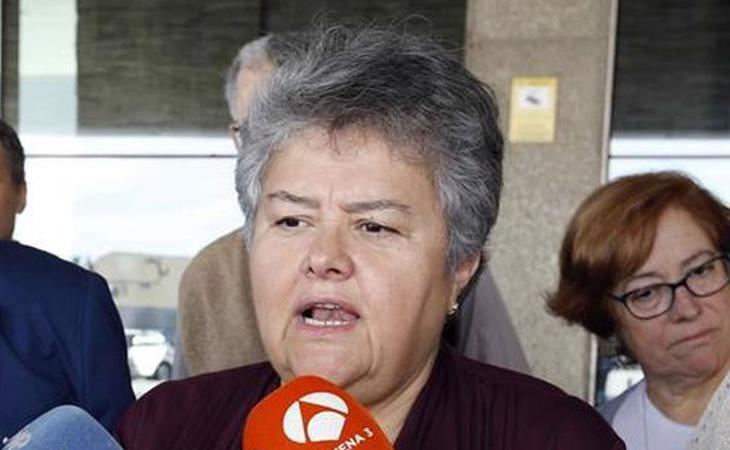 La presidenta de la Asociación de Víctimas, Pilar Vera