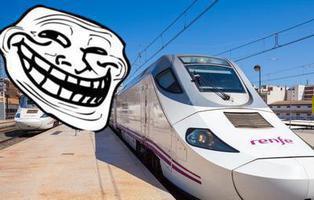 La épica respuesta de Renfe a un 'trol' de Twitter