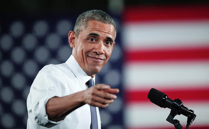 El expresidente de Estados Unidos, Barack Obama, en una foto de archivo