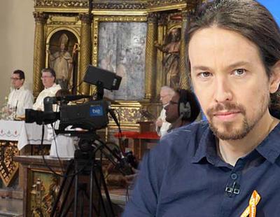 Unidos Podemos quiere eliminar las misas de TVE