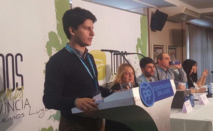 Diego Gago cuenta con todas las posibilidades de liderar Nuevas Generaciones a nivel nacional