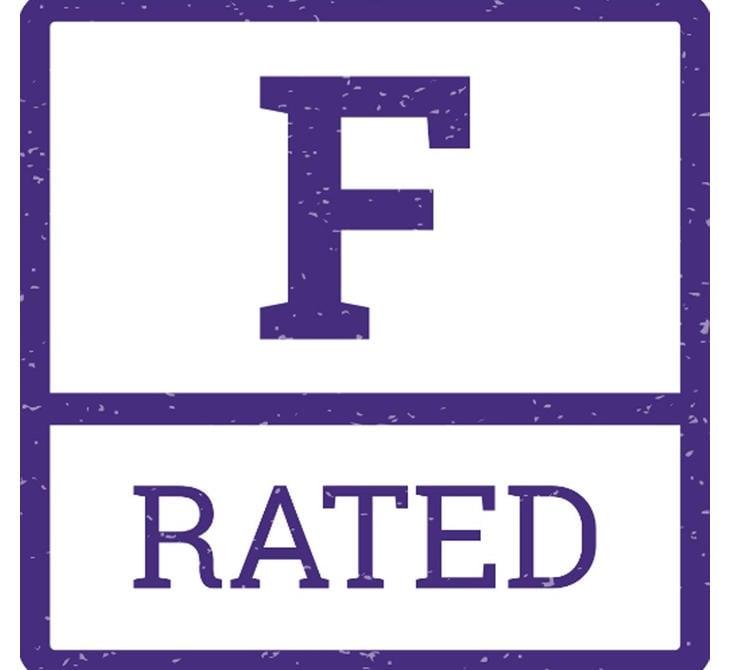Símbolo con el que se identifican las películas F