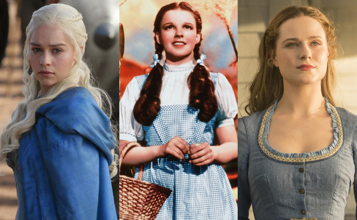Daenerys, Dorothy y Dolores eligen el azul