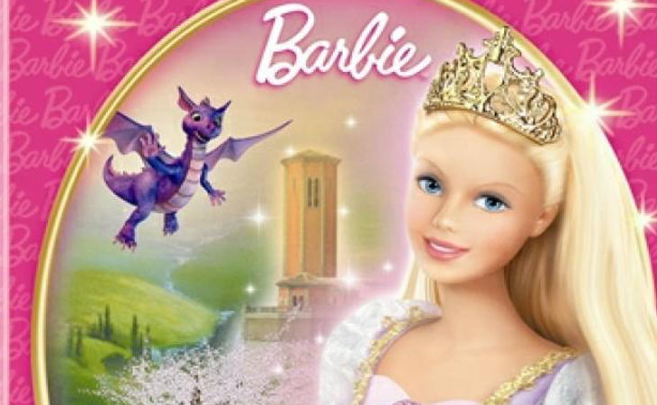 Cartel Barbie Rapunzel
