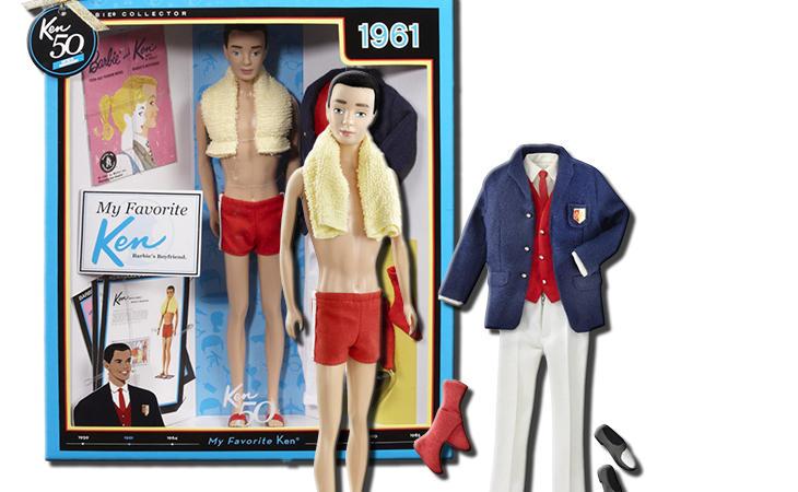 Así era el primer Ken de 1961