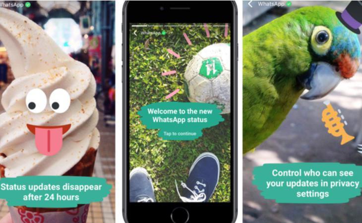 Así funcionan los nuevos Estados 'snapchatizados' de Whatsapp