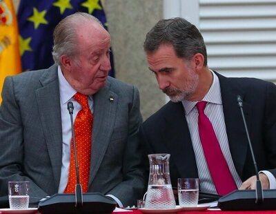 """El rey Juan Carlos admite que su relación con Felipe VI """"está rota por completo"""""""