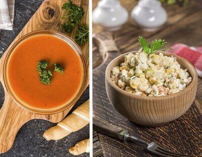 Alerta alimentaria: retiran estas populares ensaladillas y gazpachos de los supermercados y piden evitar su consumo