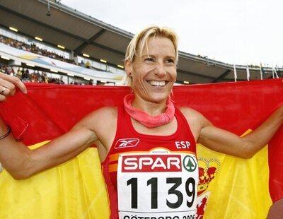 La nueva vida de Marta Domínguez: de estrella del deporte español a vigilar una estación de tren en Palencia