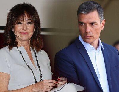 Ana Rosa Quintana carga contra Pedro Sánchez por alcanzar un acuerdo con el PP