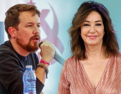 "Pablo Iglesias, contundente sobre Ana Rosa: ""Si hubiera un mínimo de decencia..."""
