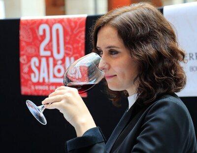 El fin de semana de lujo de Ayuso en La Rioja: vino de 180 euros y restaurante con estrella Michelín