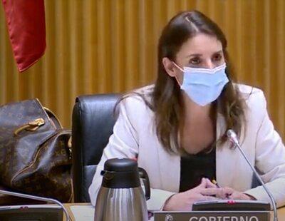 Bulo de la extrema derecha: Irene Montero no ha llevado un bolso de Louis Vuitton a la Comisión de Igualdad