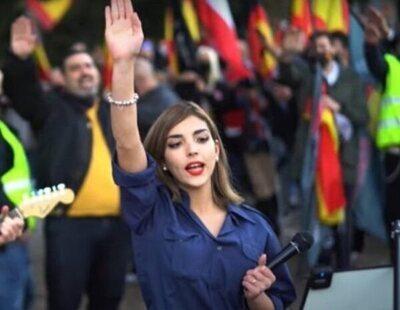 Isabel Peralta, la líder falangista del discurso de la División Azul, se marcha a Alemania becada por un partido nazi