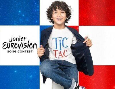 Enzo representará a la anfitriona Francia en Eurovisión Junior 2021 con su tema 'Tic Tac'