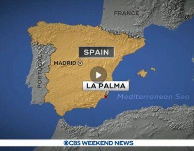El fallo viral de la CBS que sitúa el volcán de La Palma en Murcia
