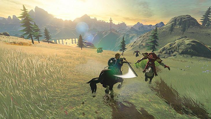 Link viajará por el Hyrule mas grande jamas visto