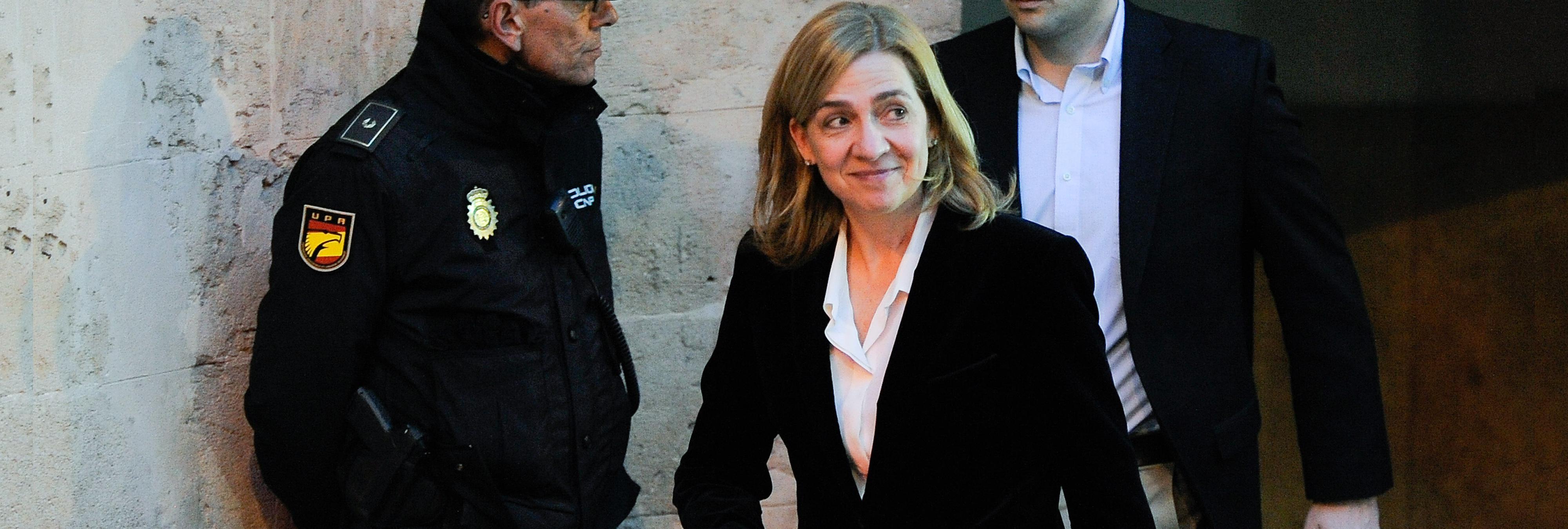 La Infanta Cristina quiere impedir la emisión de sus declaraciones ante el juez
