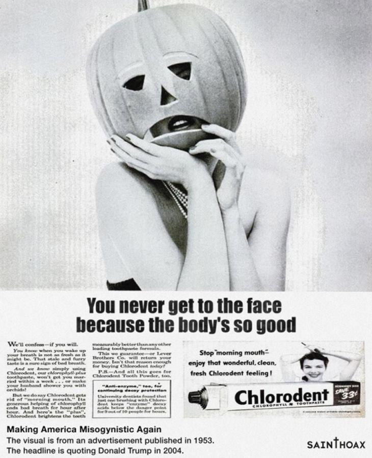 Nunca llegas a ver su cara porque su cuerpo es increíble