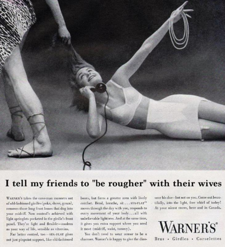 Le digo a mis amigos que sean más duros con sus esposas