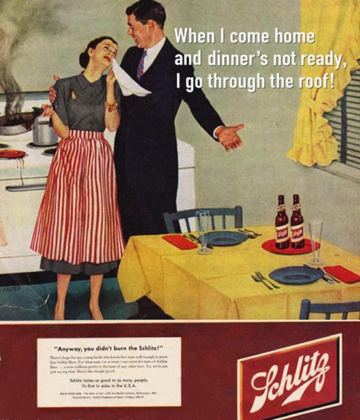 No te preocupes amor, por lo menos no quemaste la cerveza