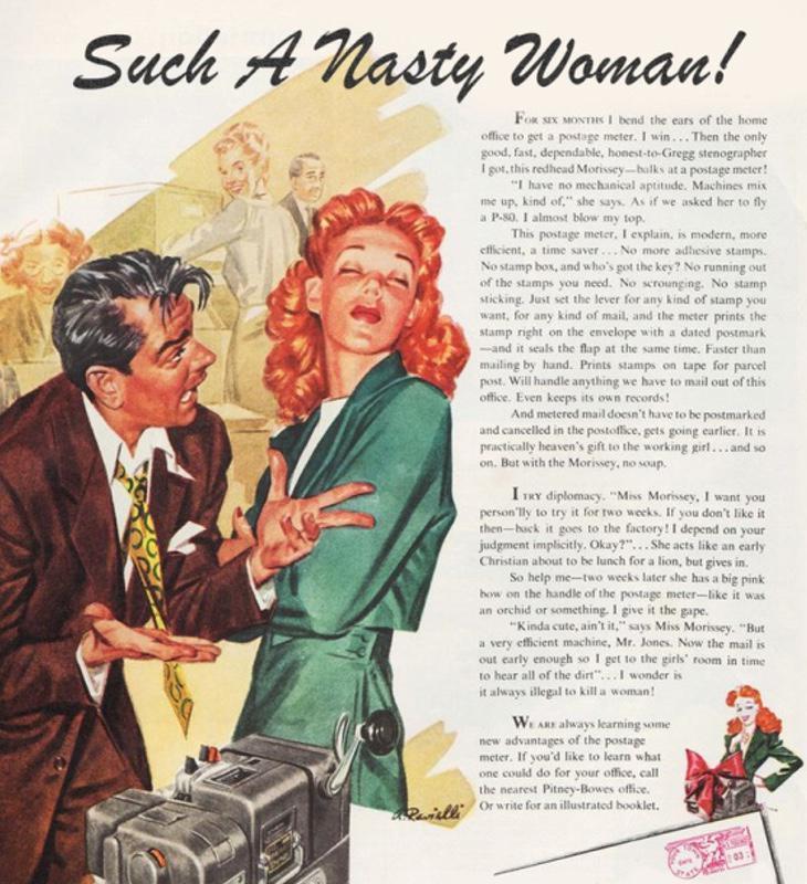 Una mujer tan desagradable