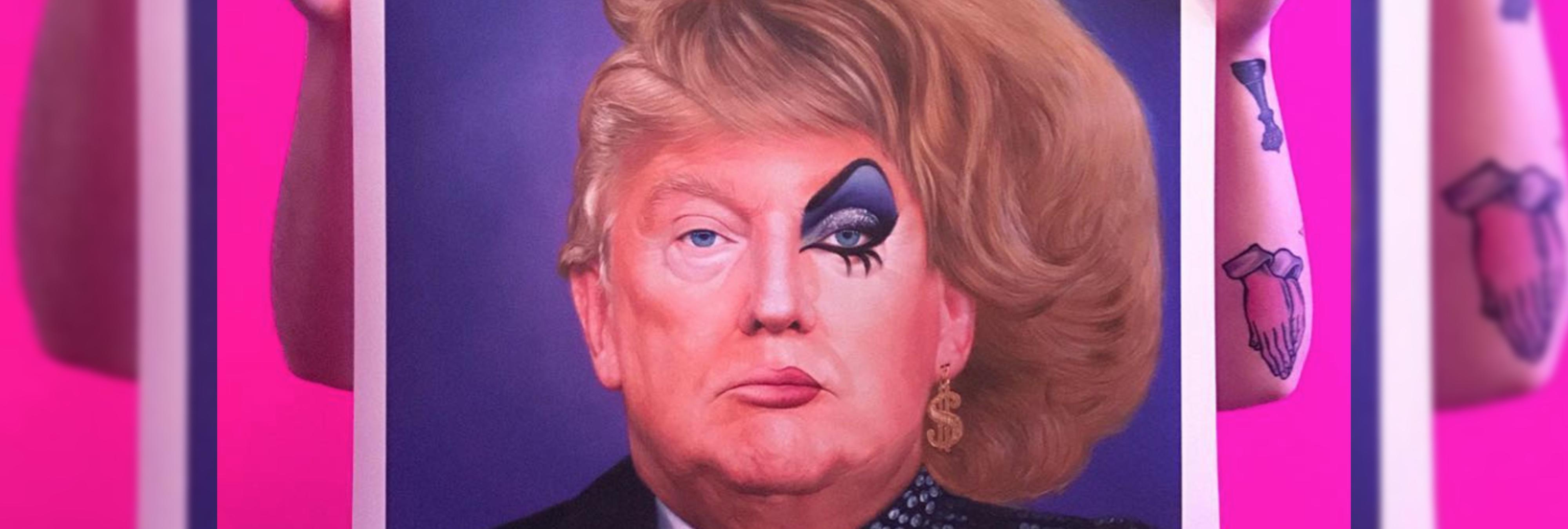 Una artista transforma las frases más machistas de Trump en eslogans publicitarios de los años 50