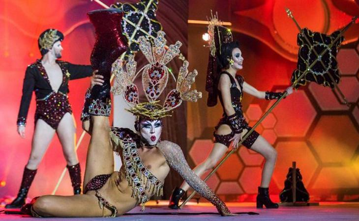 Actuación de Drag Sethlas