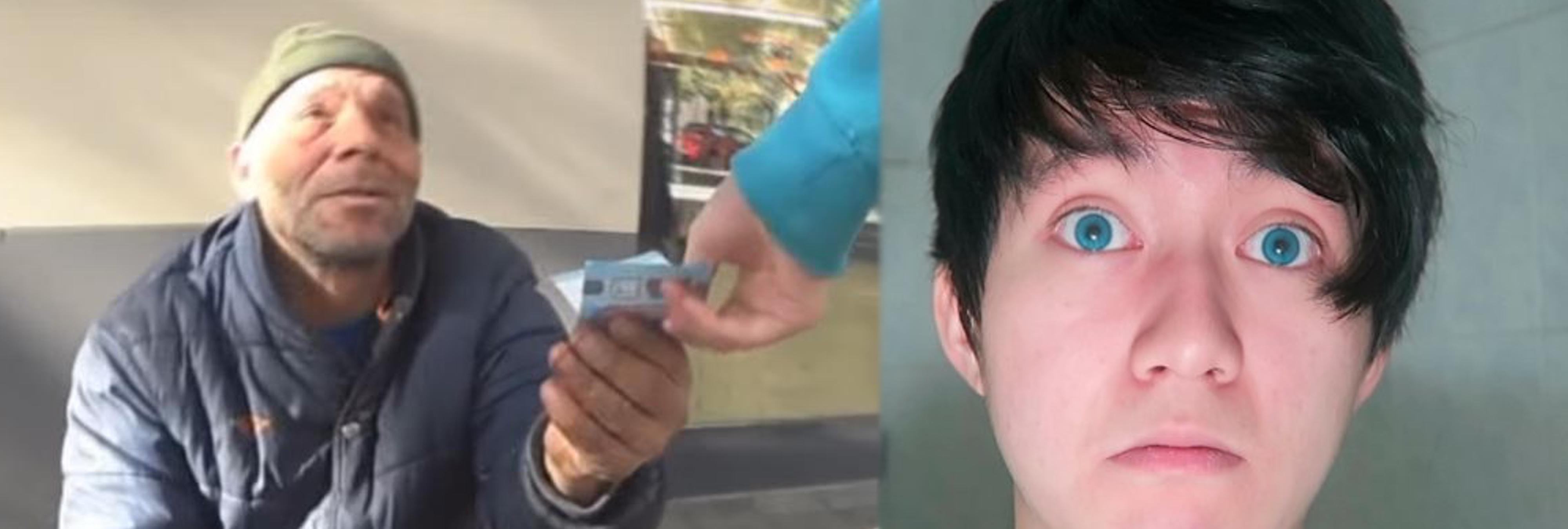 2.000 euros de fianza y retirada del pasaporte para el youtuber que dio galletas con dentífrico a un mendigo