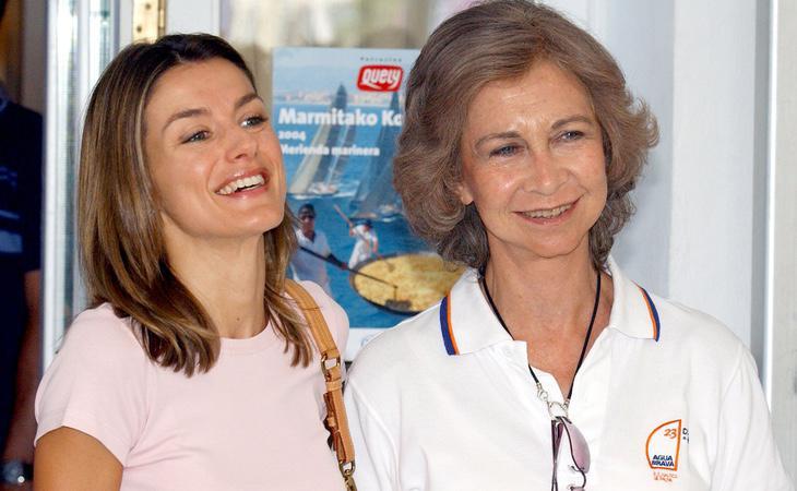 La Reina Sofía y Letizia cobran menos que Juan Carlos a pesar de acudir a un mayor número de actos oficiales
