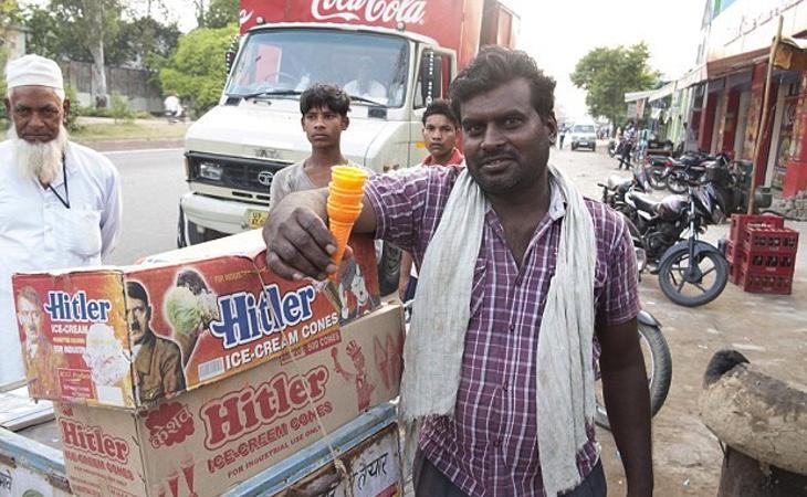 En la India incluso han inventado helados con la cara de Hitler