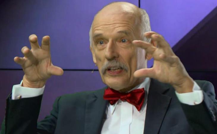 Janusz Korwin-Mikke, ultraderechista y misógino polaco