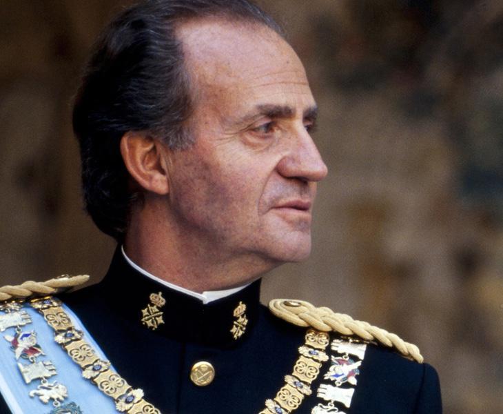 El Rey Juan Carlos en 1995