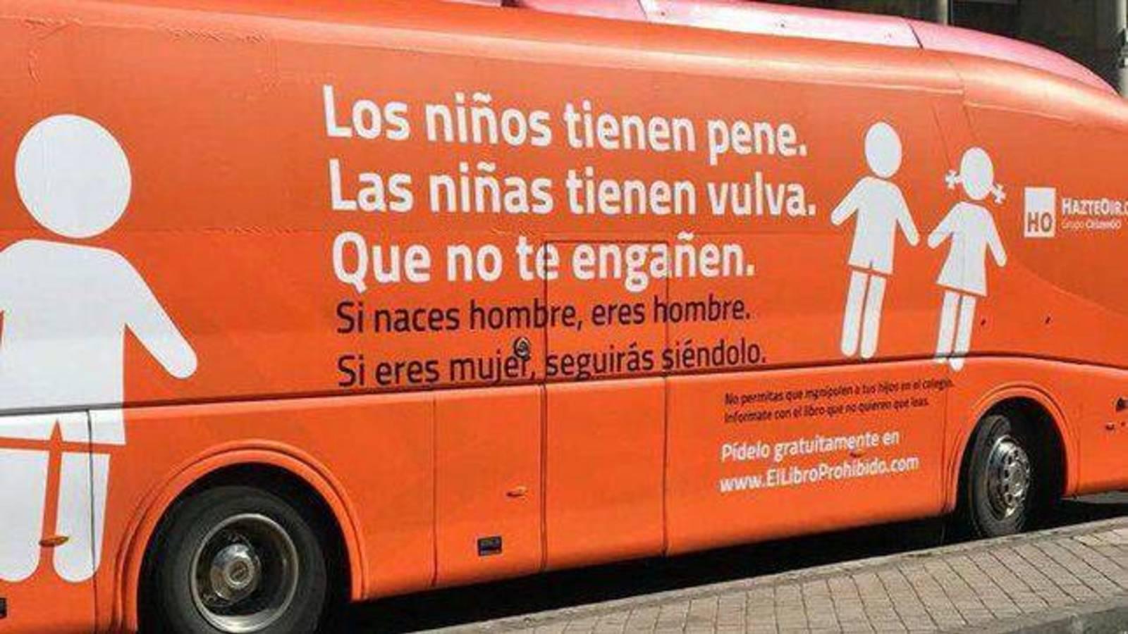 El autobús del verdadero odio
