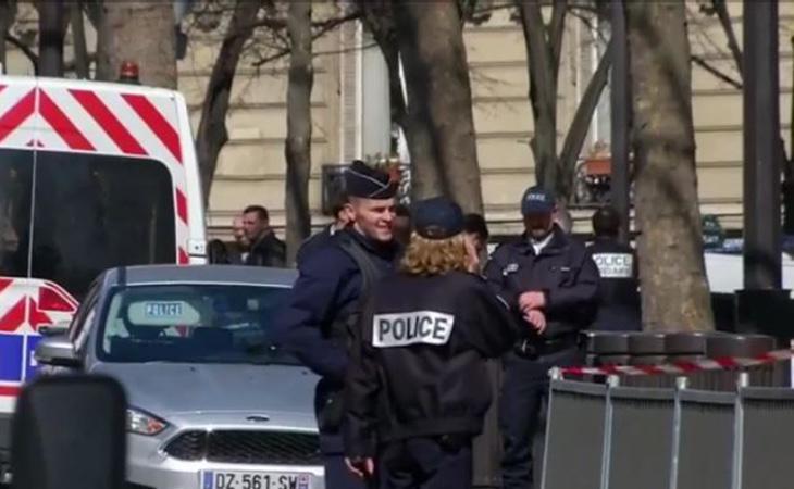 Imagen de la actuación policial