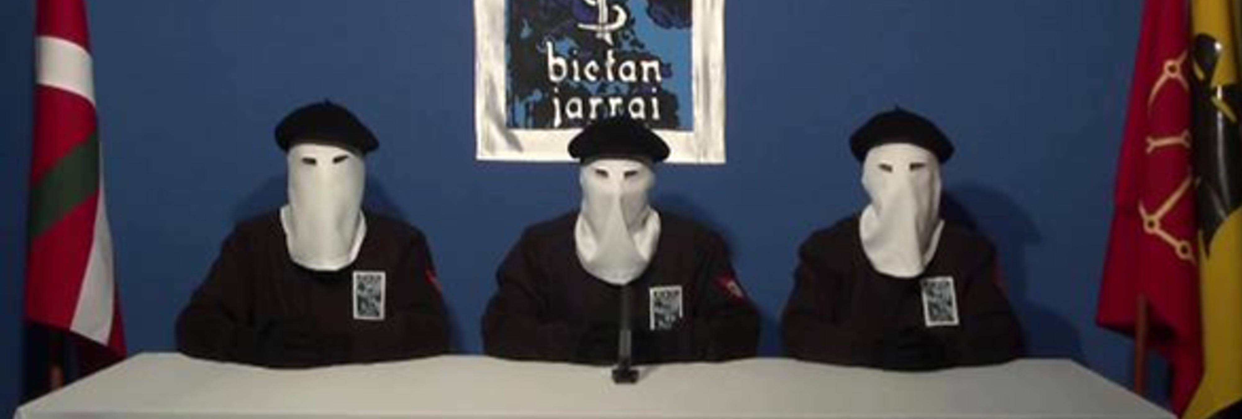 ETA anuncia su desarme definitivo para el 8 de abril