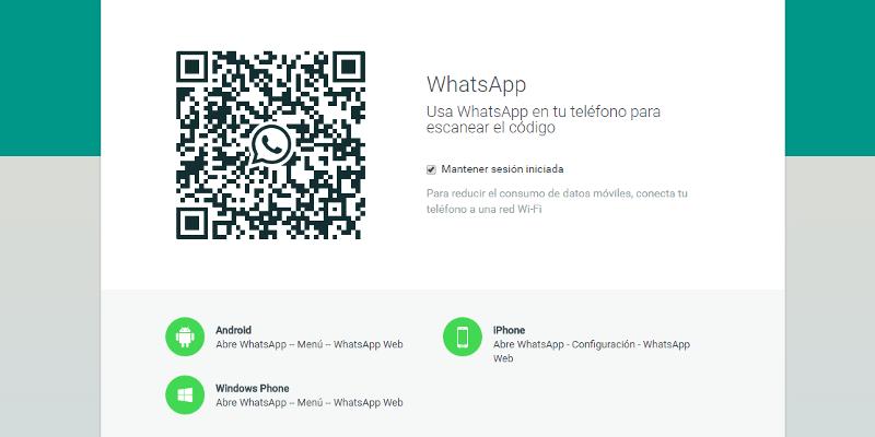 WhatsApp en ordenador