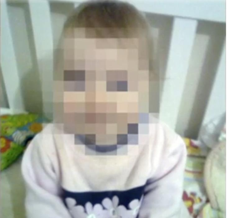 La niña, de tan solo tres años, tiene secuelas de por vida