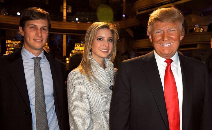 Donald Trump ha cerrado su círculo en su hija Ivanka y yerno Jared Kushner