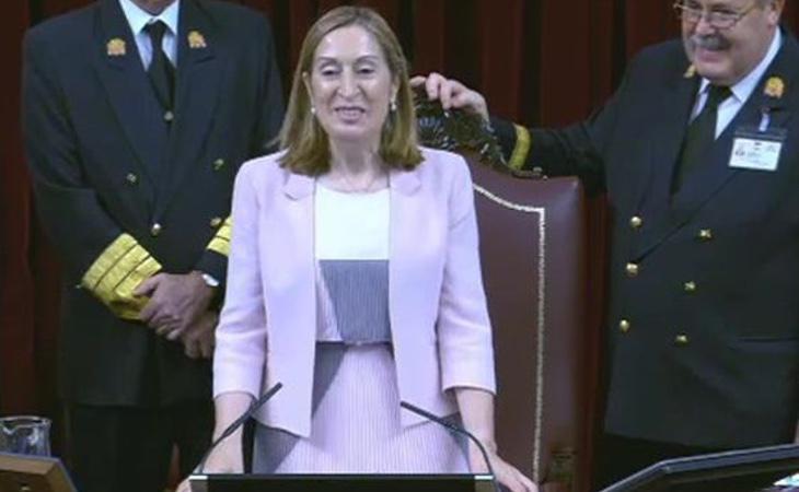 La presidenta del Congreso de los Diputados, Ana Pastor