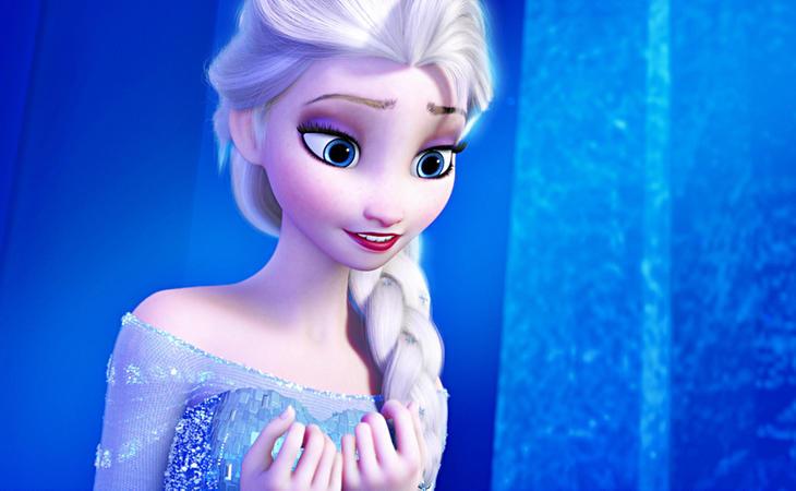 Elsa en 'Frozen'