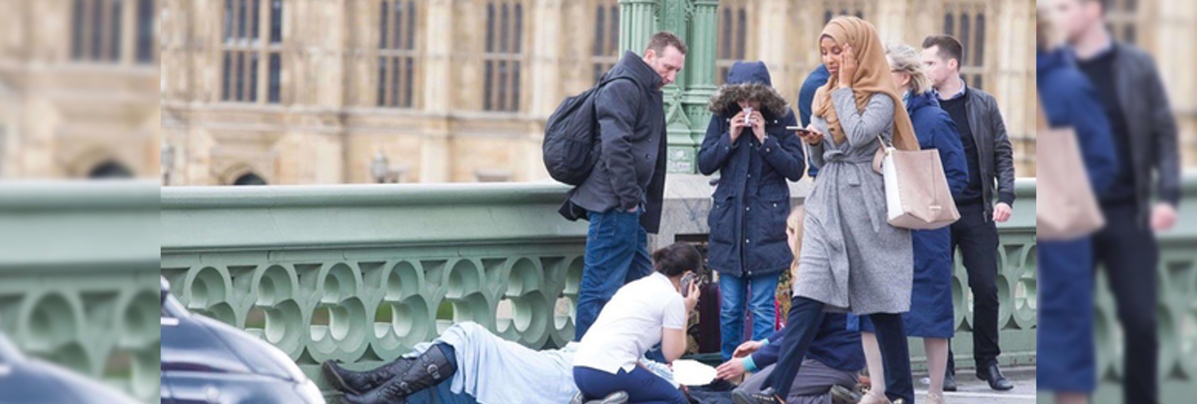El racismo islamófobo que ha llevado a malinterpretar una fotografía del atentado de Londres